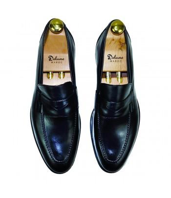 DELUXE NICOLAS Chaussure Cuir Noir