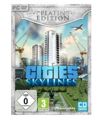 Cities: Skylines Platinum Edition PC Clé