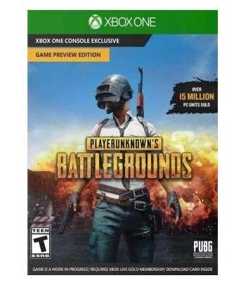 Playerunknown's Battlegrounds Xbox ONE