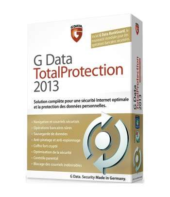G Data Total Protection 2013 1Poste1 an