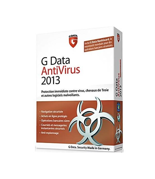 G Data antivirus 2013 (1Poste 2 ans)