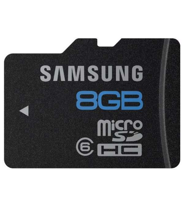 Carte Mémoire SD 8 Go