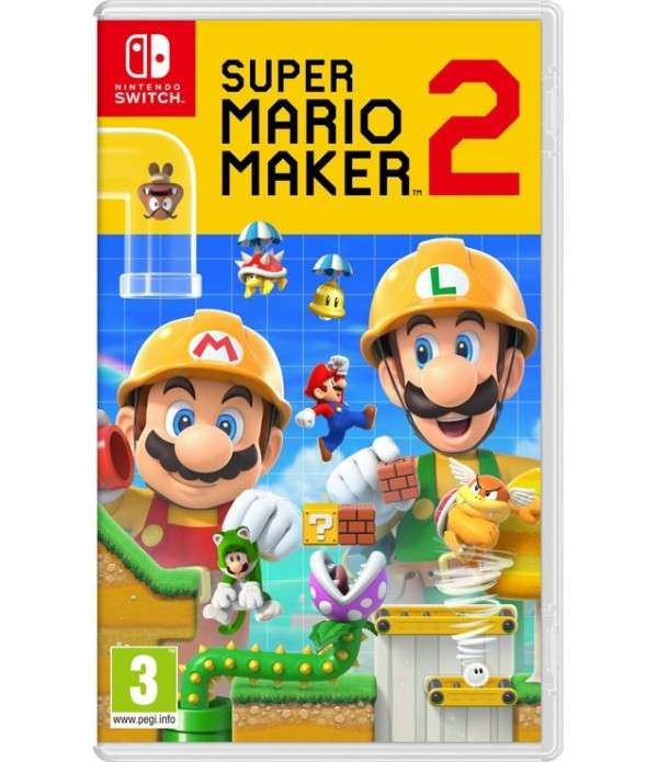 Super Mario Maker 2 - CD Nintendo Switch Maroc - 1