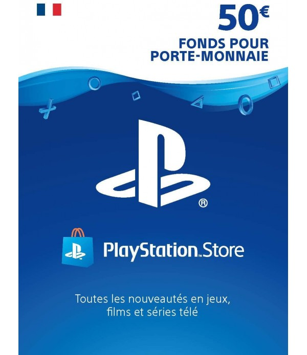 Playstation Network PSN 50€