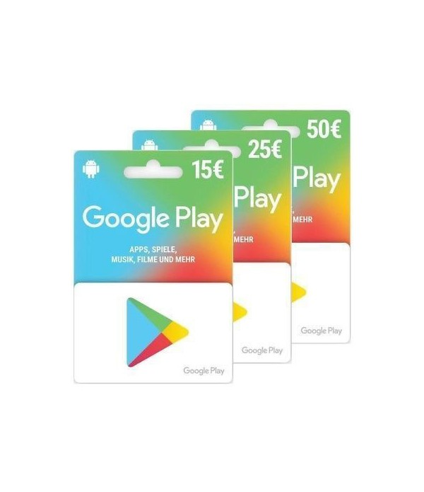 Google Play recharge Maroc