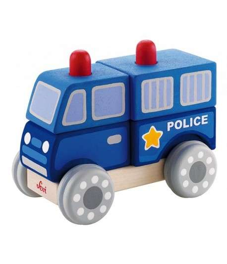 Sevi Jeu Emboîtement Police 13 cm
