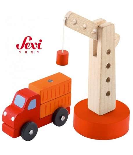 Sevi Grue avec camion 8 cm