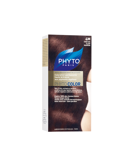 PHYTOCOLOR 4M Chatain Clair Marron