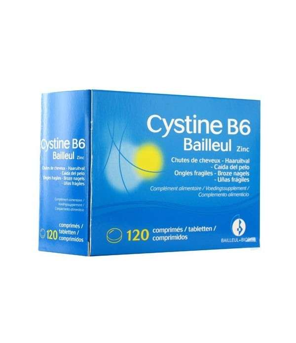 BIODERMA CYSTINE B6 ZINC 120 COMPRIMÉS