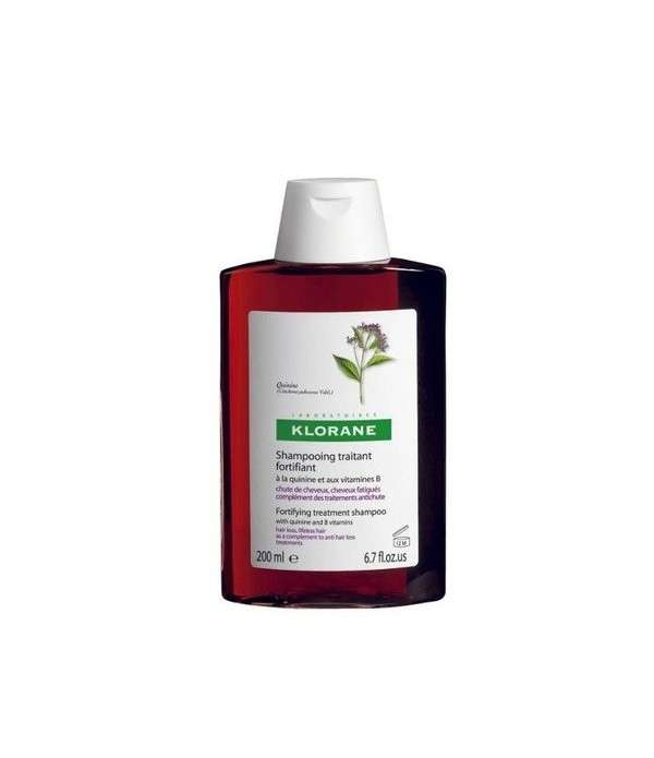 KLORANE Shampooing A la Quinine Fortifiant 200ml