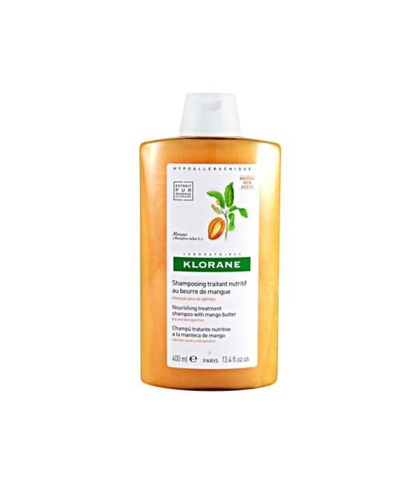 KLORANE Shampooing Beurre De Mangue 400ml