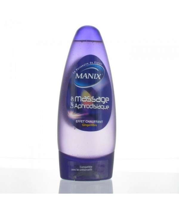 MANIX GEL MASSAGE APHRODISIAQUE